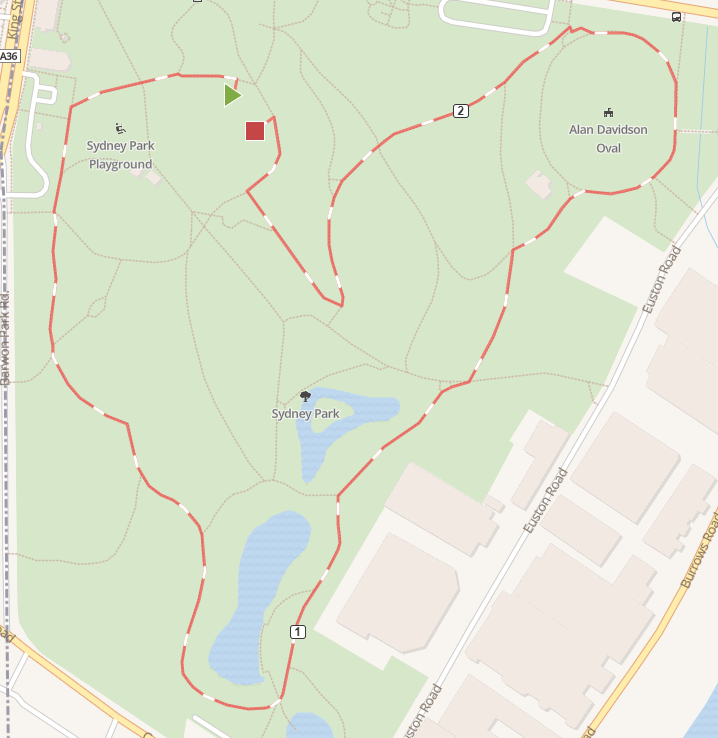 2_5km loop_2018-07-30 10_29_43-Newtown Fun Run (2018). Mapometer.com running route #4784105